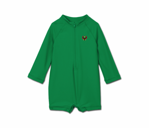 Toddler Kelly Green Heru One Piece Rash Guard