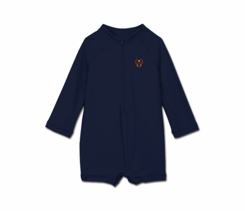 Toddler Navy Blue Heru One Piece Rash Guard
