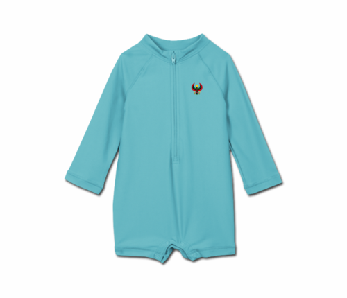 Toddler Pool Blue Heru One Piece Rash Guard