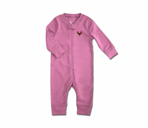 Toddler Lilac Heru Zip Romper