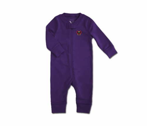Toddler Grape Heru Zip Romper