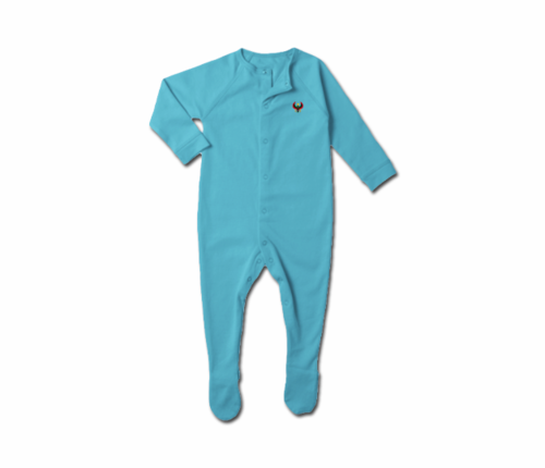 Toddler Pool Blue Heru Snap Footie