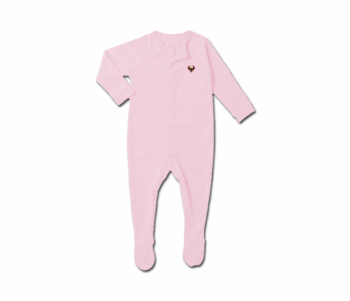 Toddler Pink Heru Snap Footie
