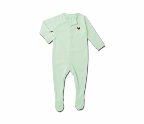 Toddler Mint Heru Snap Footie