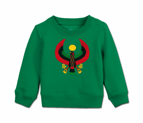 Toddler Kelly Green Heru Cozy Sweatshirt