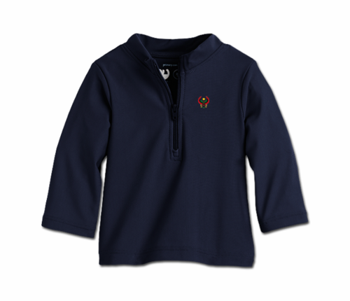 Toddler Navy Blue Heru Rash Guard