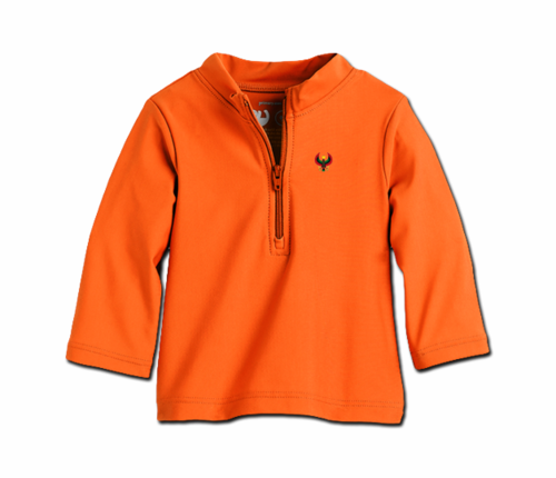 Toddler Tangerine Orange Heru Rash Guard