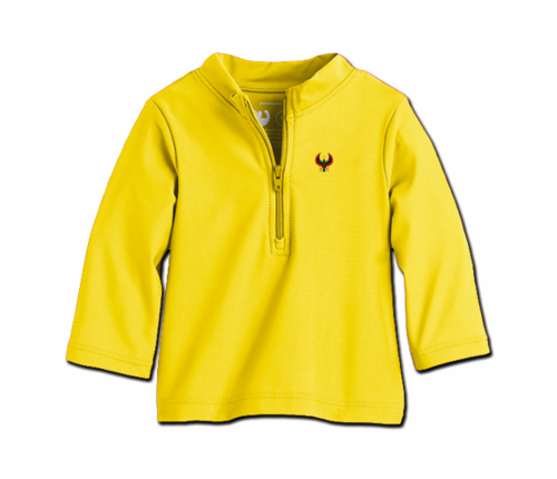 Toddler Yellow Heru Rash Guard