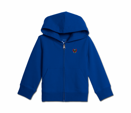 Toddler Royal Blue Heru Zip Hoodie
