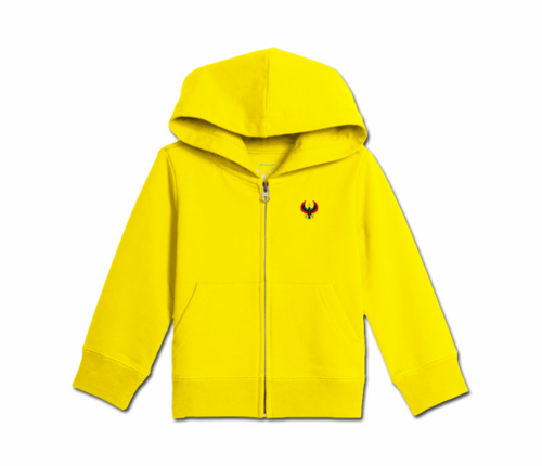 Toddler Yellow Heru Zip Hoodie