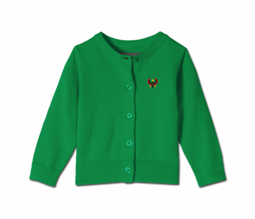 Toddler Kelly Green Heru Cardi