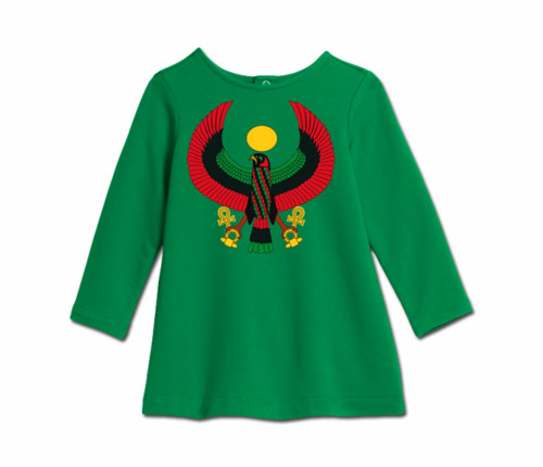 Toddler Kelly Green Heru Cozy Dress