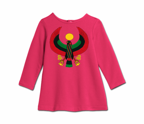 Toddler Raspberry Heru Cozy Dress