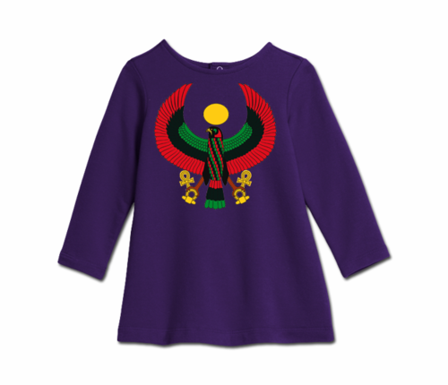 Toddler Purple Heru Cozy Dress