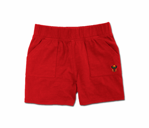 Toddler Red Heru Play Shorts