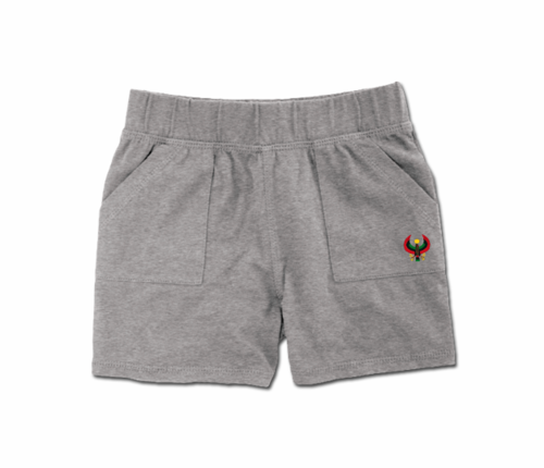 Toddler Heather Grey Heru Play Shorts