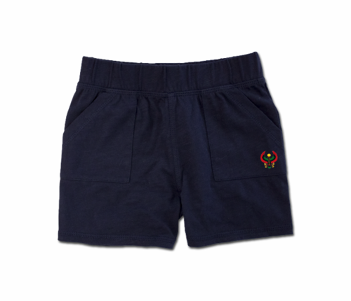 Toddler Navy Blue Heru Play Shorts