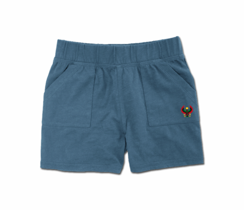 Toddler Slate Blue Heru Play Shorts