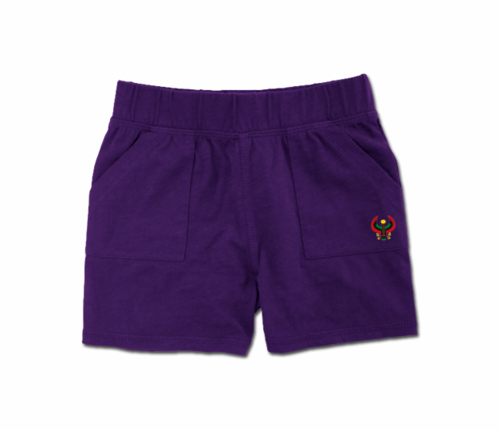 Toddler Purple Heru Play Shorts