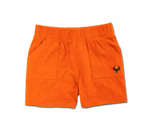Toddler Tangerine Orange Heru Play Shorts