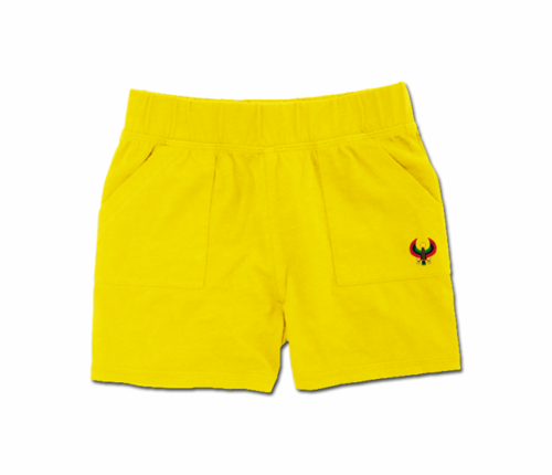 Toddler Yellow Heru Play Shorts