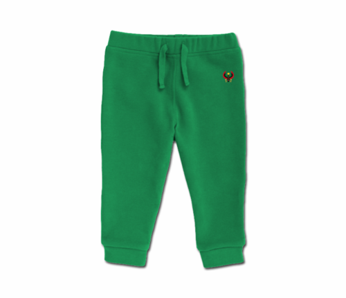 Toddler Kelly Green Heru Cozy Sweatpants