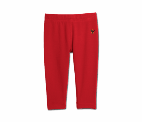 Toddler Red Heru Cozy Leggings