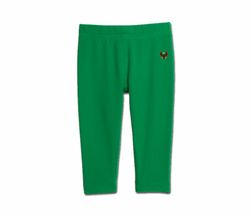 Toddler Kelly Green Heru Cozy Leggings