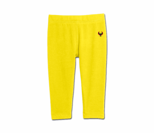 Toddler Yellow Heru Cozy Leggings