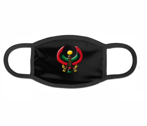 Black Heru Mask (with Flex Style Logo)