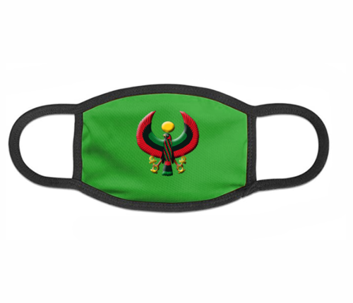 Kelly Green Heru Mask (with Flex Style Logo)