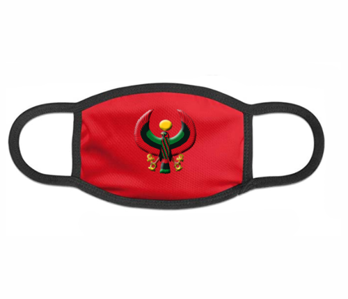 Red Heru Mask (with Flex Style Logo)