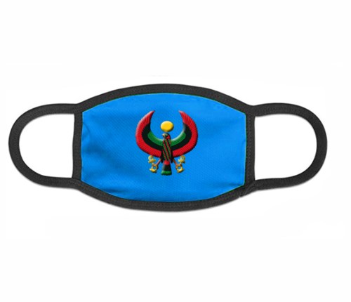 Royal Blue Heru Mask (with Flex Style Logo)
